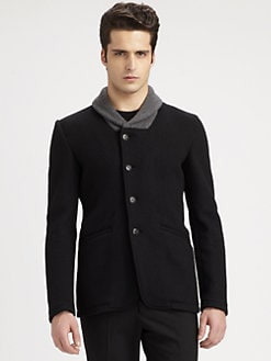 Armani Collezioni - Shawl-Collared Wool-Blend Blazer