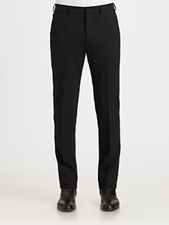 Armani Collezioni - Stretch Wool Slim-Fit Pants