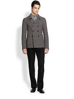 Armani Collezioni - Double-Breasted Coat