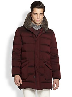 Armani Collezioni - Hooded Down Jacket