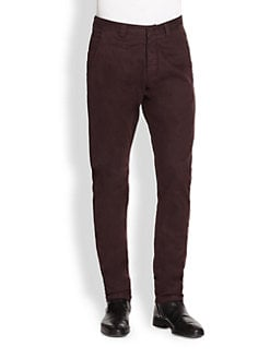 Armani Collezioni - Double Face Stretch Trousers