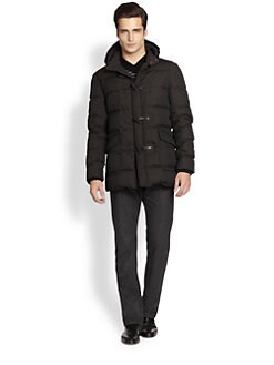 Armani Collezioni - Down Toggle Coat