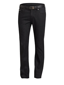 Armani Collezioni - Slim-Fit Denim Pants