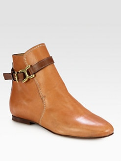 Chloe - Leather Ankle Boots