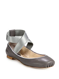 Chloe - Leather Ballet Flats