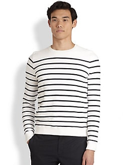 Vince - Striped Terry Sweater