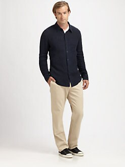Vince - Linen Button-Down Shirt