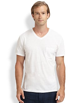 Vince - Classic V-Neck Shirt