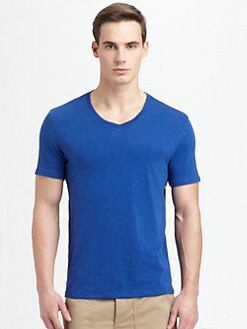 Vince - Slub V-Neck Tee