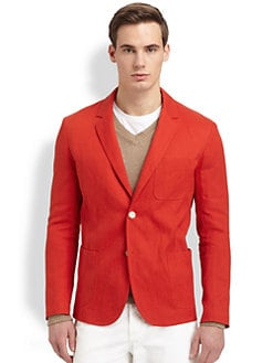 Vince - Linen Blend Blazer