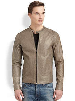 Vince - Leather Biker Jacket