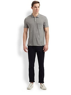 Vince - Jersey Cotton Polo