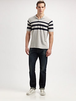 Vince - Chest-Striped Polo