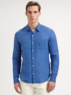 Vince - Linen Sportshirt