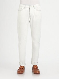 Vince - Straight-Leg Denim Jeans