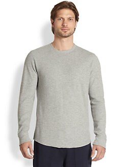 Vince - Thermal Long Sleeve Shirt