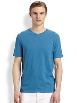 Vince - Cotton V-Neck Tee
