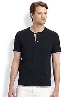 Vince - Double Layer Henley