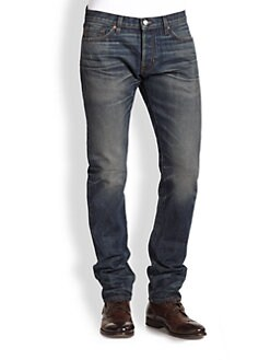 Vince - Selvedge Denim Slim-Fit Jeans