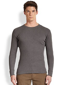 Vince - Ribbed Cotton Jersey Top