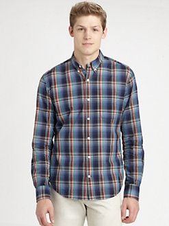Vince - Gingham Check Sportshirt