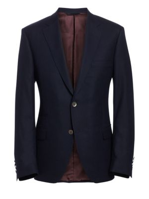 COLLECTION BY SAMUELSOHN Classic-Fit Wool Travel Blazer