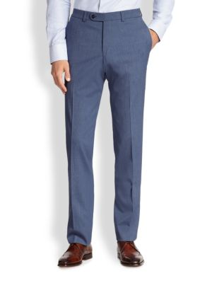 Stretch-Wool Trousers