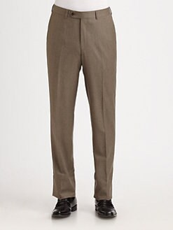 Saks Fifth Avenue Men's Collection - Flannel Trousers