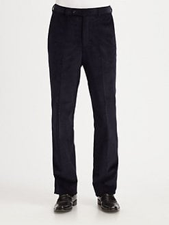 Saks Fifth Avenue Men's Collection - Flat-Front Cords