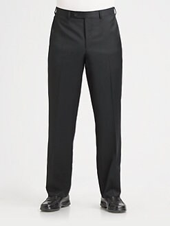 Saks Fifth Avenue Men's Collection - Wool Trousers