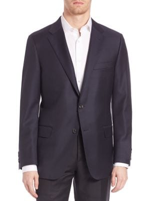Beacon Worsted Wool Blazer