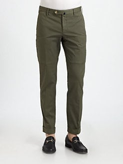 SLOWEAR - Incotex Italian-Fit Cargo Pants