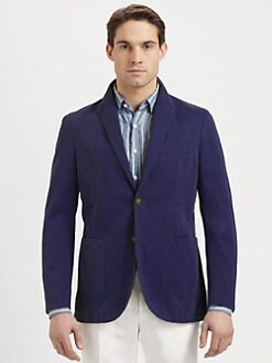 SLOWEAR - Montedoro Single-Breasted Twill Blazer