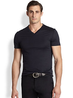 Ralph Lauren Black Label - Jersey V-Neck Tee