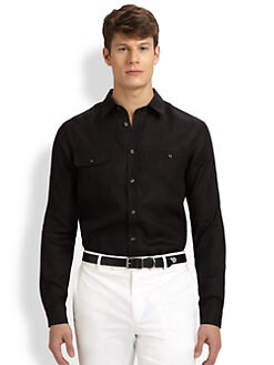 Ralph Lauren Black Label - Linen Military Sportshirt