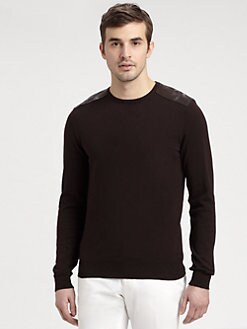 Ralph Lauren Black Label - Jersey Crewneck Sweater