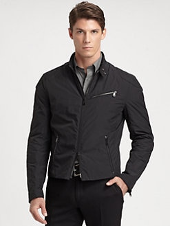 Ralph Lauren Black Label - Classic Cafe Biker Jacket