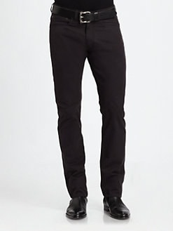 Ralph Lauren Black Label - Five-Pocket Calvary Twill Pant