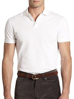 Ralph Lauren Black Label - Solid Mesh Knit Polo