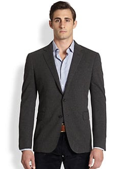 Ralph Lauren Black Label - Solid Double Blazer