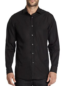 Ralph Lauren Black Label - Stretch-Cotton Sportshirt