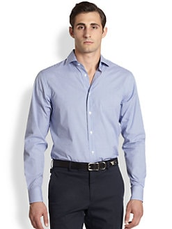 Ralph Lauren Black Label - Checked Cotton Sportshirt