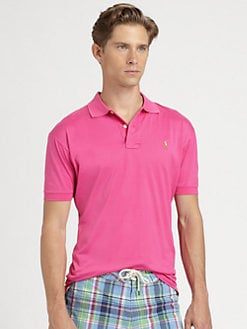 Polo Ralph Lauren - Solid Cotton Knit Polo