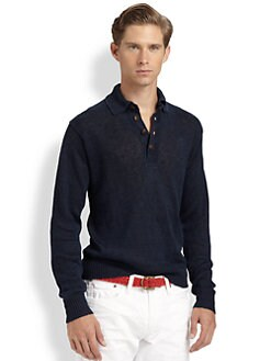 Polo Ralph Lauren - Linen Pullover Sweater