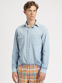 Polo Ralph Lauren - Custom-Fit Denim Chambray Shirt