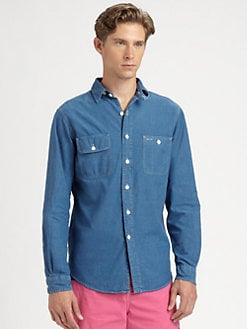 Polo Ralph Lauren - Custom-Fit Denim Sportshirt