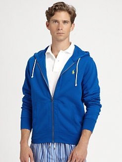 Polo Ralph Lauren - Solid Fleece Hooded Sweatshirt