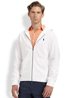 Polo Ralph Lauren - Solid Fleece Zip Sweatshirt