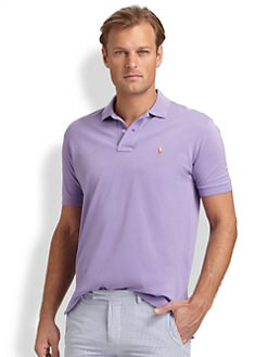Polo Ralph Lauren - Mercerized Pique Cotton Polo