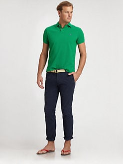 Polo Ralph Lauren - Yarn-Dyed Mesh Knit Polo